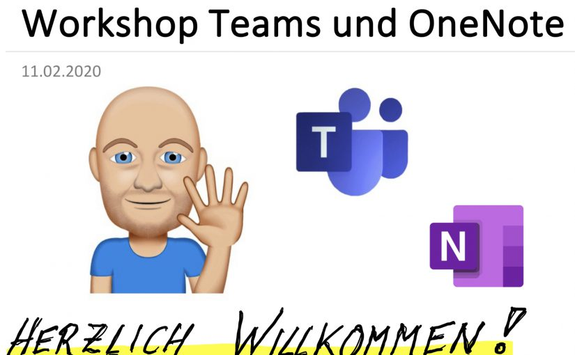 Workshop Teams und OneNote