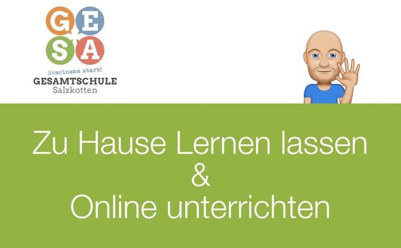 """""""Zu Hause lernen lassen und Online unterrichten"""" – Webinar mit Erfahrungsbericht und Tipps"""
